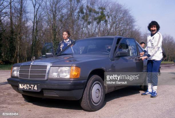 Fernando Chalana during the Photoshoot in Bordeaux France on 17th July 1984