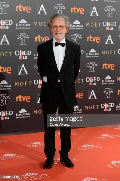 Fernando Colomo attends Goya Cinema Awards 2017 at Madrid Marriott Auditorium on February 4 2017 in Madrid Spain