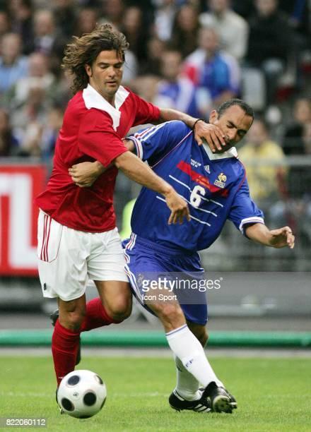 Fernando COUTO / Youri DJORKAEFF France 98 / Selection Mondiale Celebration des 10ans de la victoire en Coupe du Monde 1998 Stade de France