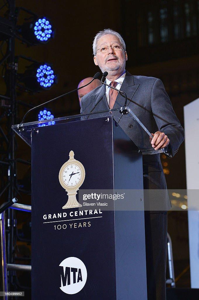 Fernando Ferrer, Acting MTA Chairman attends Grand Central Terminal 100th Anniversary Celebration at Grand Central Terminal on February 1, 2013 in New York City.