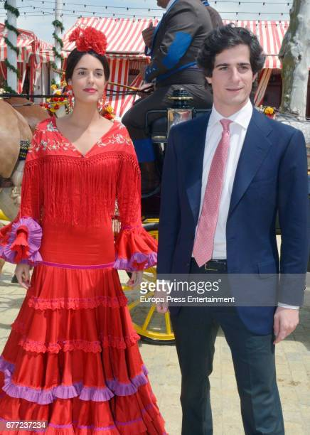 Fernando Fitz James Stuart Solis and Sofia Palazuelo attend 2017 April's Fair on April 30 2017 in Seville Spain