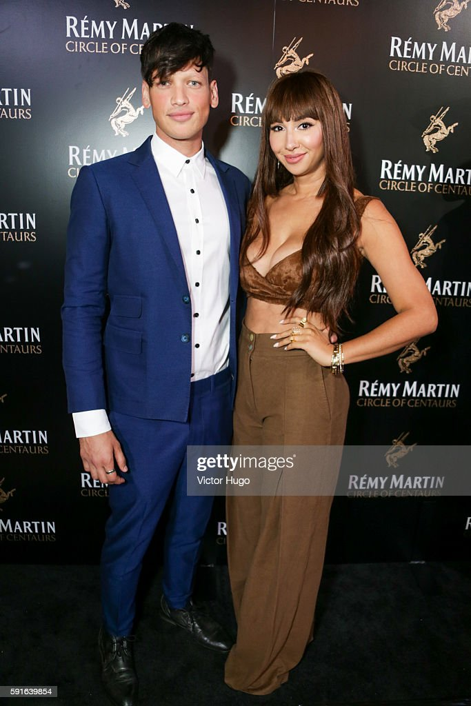 Fernando Garcia and Jackie Cruz attend the Remy Martin Launch 2016 Circle of Centaurs at The Bowery Hotel on August 17 2016 in New York City
