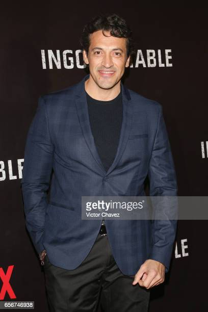Fernando Gaviria attends the launch of Netflix's series 'Ingobernable' red carpet at Auditorio BlackBerry on March 22 2017 in Mexico City Mexico