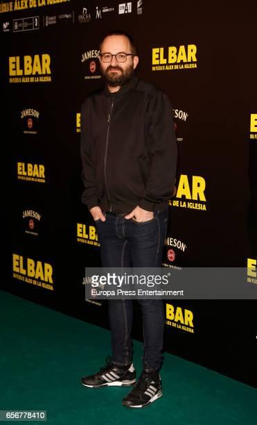 Fernando Gonzalez Molina attends 'El Bar' premiere at Callao cinema on March 22 2017 in Madrid Spain