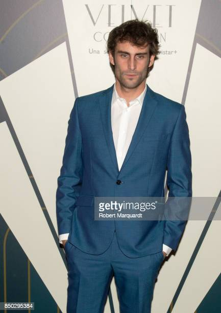Fernando Guallar poses during a photocall for the premiere of 'Velvet' at the Sala Phenomena on September 20 2017 in Barcelona Spain