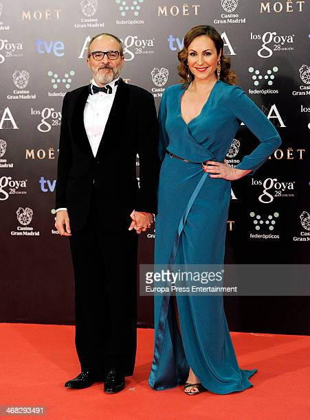 Fernando Guillen Cuervo and Ana Milan attend Goya Cinema Awards 2014 at Centro de Congresos Principe Felipe on February 9 2014 in Madrid Spain