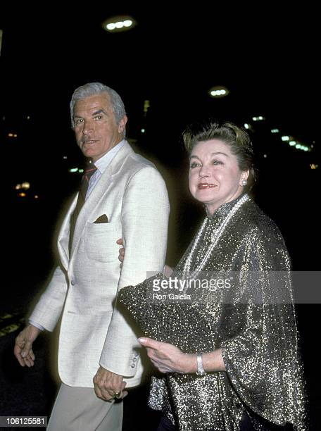 Fernando Lamas and Esther Williams during 'March of the Falsettos' Hollywood Opening Night at Huntington Hartford Theater in Hollywood California...