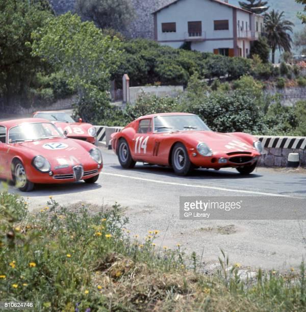Fernando Latteri driving a Targa Florio and Trapani driving an Alfa Romeo SZ 22nd