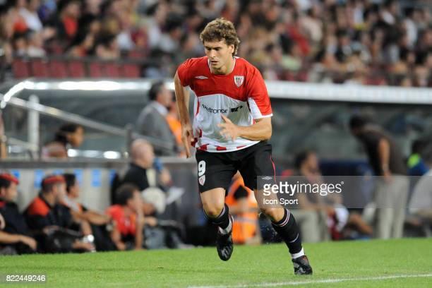 Fernando LLORENTE Barcelone / Athletic Bilbao Supercoupe d'Espagne match retour Camp Nou Barcelone Espagne