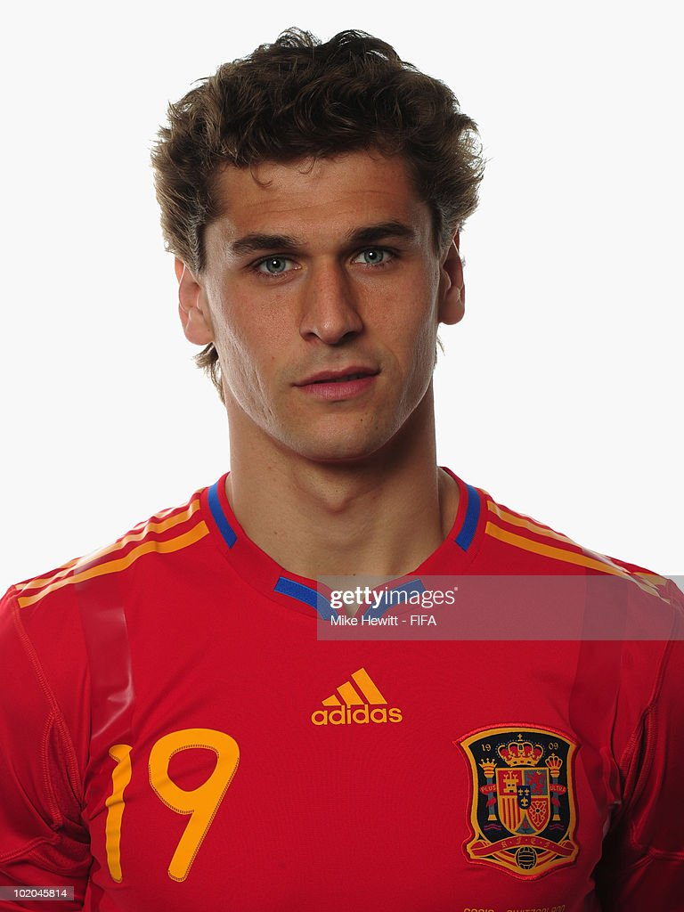 <a gi-track='captionPersonalityLinkClicked' href=/galleries/search?phrase=Fernando+Llorente&family=editorial&specificpeople=2108120 ng-click='$event.stopPropagation()'>Fernando Llorente</a> of Spain poses during the official Fifa World Cup 2010 portrait session on June 13, 2010 in Potchefstroom, South Africa.
