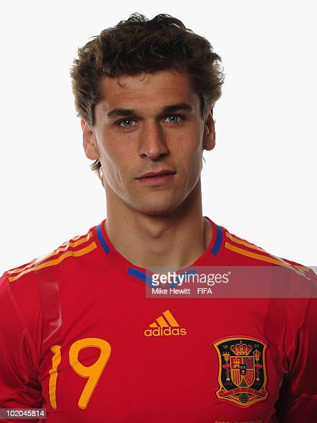 Fernando Llorente of Spain poses during the official Fifa World Cup 2010 portrait session on June 13 2010 in Potchefstroom South Africa