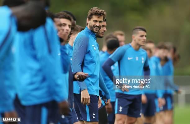 Fernando Llorente of Tottenham during the Tottenham Hotspur training session at Tottenham Hotspur Training Centre on October 20 2017 in Enfield...