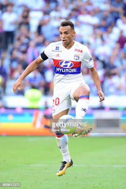 Fernando Marcal of Lyon during the Ligue 1 match between Olympique Lyonnais and FC Girondins de Bordeaux at Groupama Stadium on August 19 2017 in Lyon