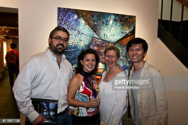 Fernando Mendosa Giselle Behrens Rhonda Schaller and HuanKai Wang attend OPTICAL NERVE 2010 Graduating Class Exhibition at School of Visual Arts on...