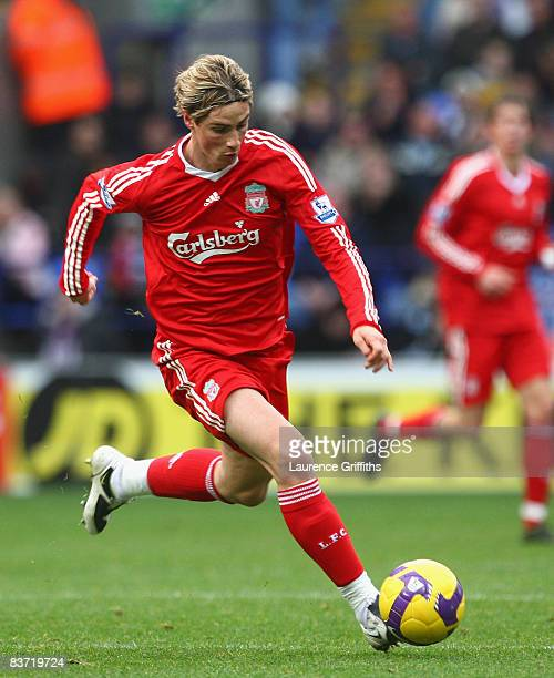 Fernando od Liverpool in action during the Barclays Premier League match between Bolton Wanderers and Liverpool at the Reebok Stadium on November 15...