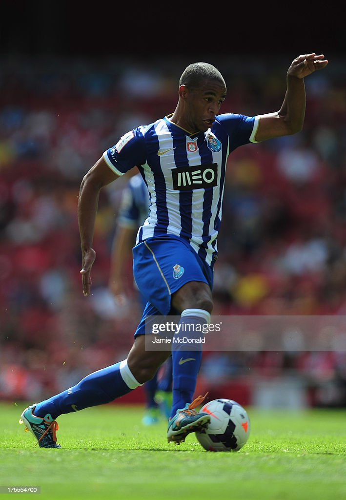 Fernando of FC Porto in action during the Emirates Cup match between Napoli and FC Porto at the Emirates Stadium on August 4, 2013 in London, England.