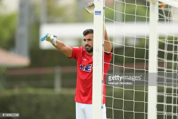 Fernando Pacheco of Alaves during the friendly match between Toulouse FC and Deportivo Alaves on July 19 2017 in Saint Jean de Luz France