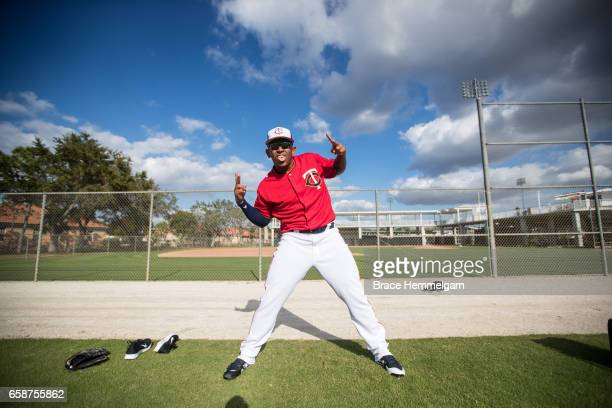 Fernando Romero of the Minnesota Twins poses for a photo prior to a game against the Tampa Bay Rays on February 24 2017 at the CenturyLink Sports...