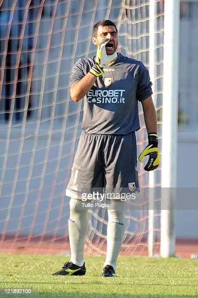 Fernando Rubens Rubinho of Palermo in action during the pre season friendly match between Trapani Calcio and Us Citta di Palermo at Stadio...