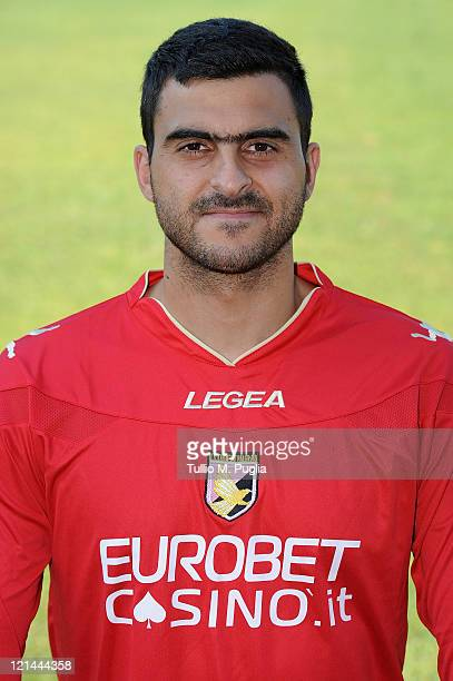 Fernando Rubens Rubinho poses for the US Citta di Palermo official headshot at Tenente Carmelo Onorato Sports Center on August 19 2011 in Palermo...