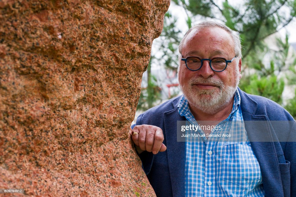 Fernando Savater poses at the International Menendez Pelayo University on July 5, 2017 in Santander, Spain.