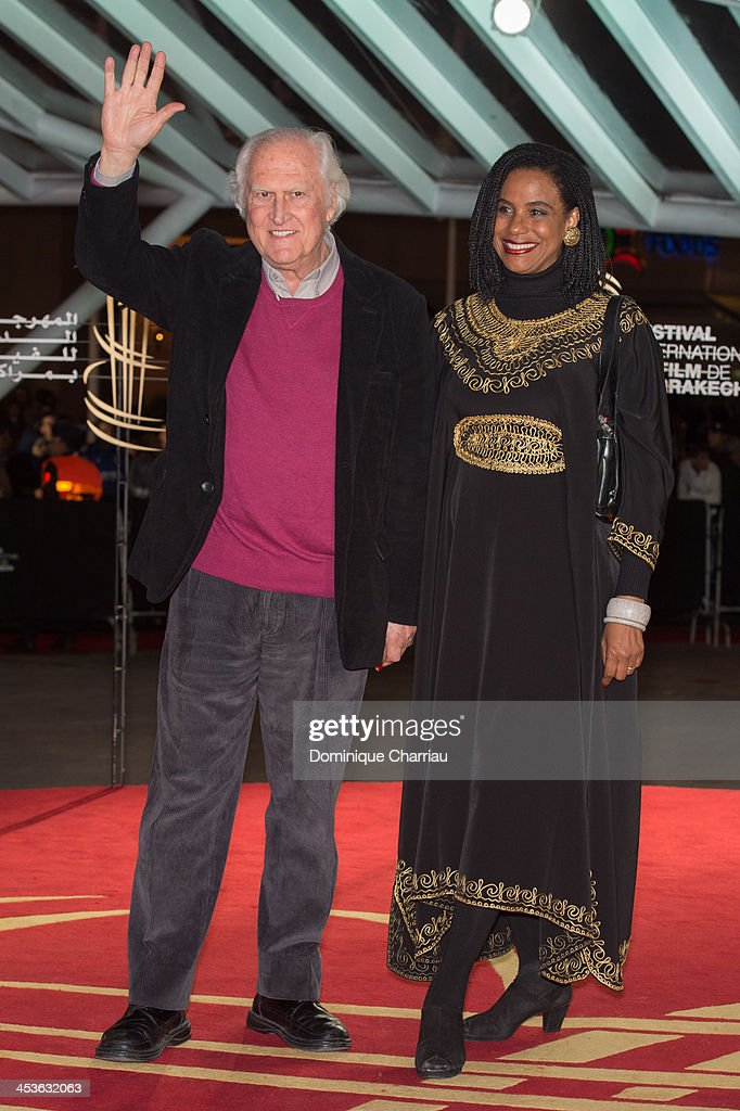 Fernando Solanas and his wife attend the 'Waltz With Monica' Premiere At 13th Marrakech International Film Festival on December 4, 2013 in Marrakech, Morocco.