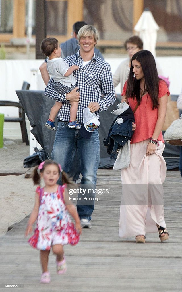 Fernando Torres and Family Sighting In Sopot - UEFA EURO ...