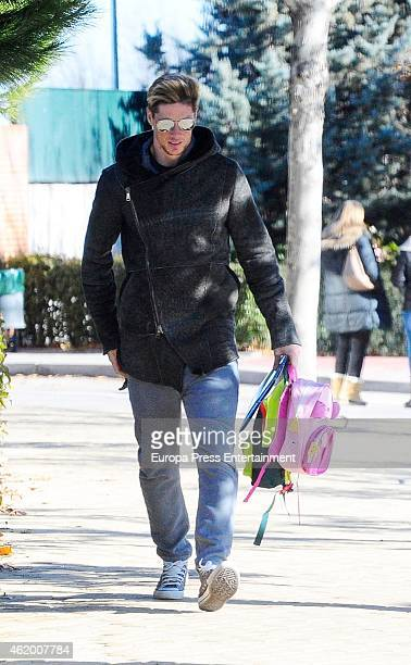 Fernando Torres is seen on January 19 2015 in Madrid Spain