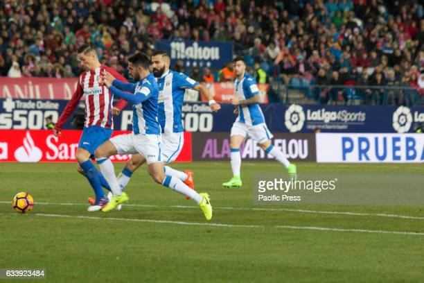 Fernando Torres making the second goal of Atlético de Madrid Atletico de Madrid won 2 to 0 in the South Madrid Derby over CD Leganes two Goals of...