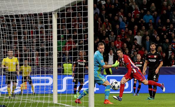Bayer Leverkusen v Club Atletico de Madrid - UEFA Champions League Round of 16: First Leg : News Photo