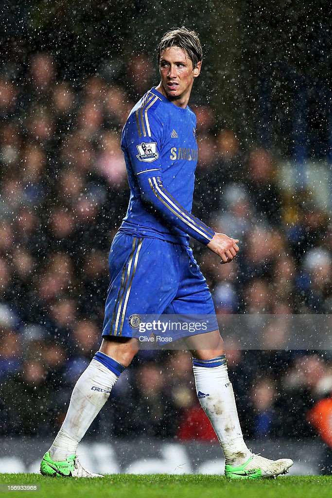 <a gi-track='captionPersonalityLinkClicked' href=/galleries/search?phrase=Fernando+Torres&family=editorial&specificpeople=194755 ng-click='$event.stopPropagation()'>Fernando Torres</a> of Chelsea looks on during the Barclays Premier League match between Chelsea and Manchester City at Stamford Bridge on November 25, 2012 in London, England.