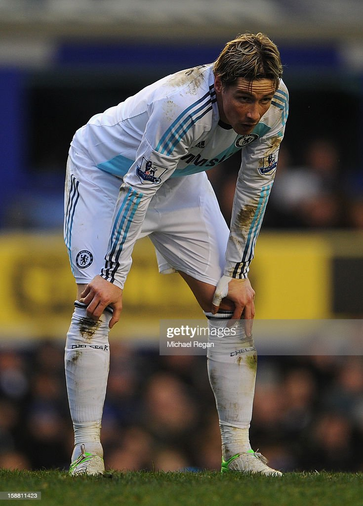 <a gi-track='captionPersonalityLinkClicked' href=/galleries/search?phrase=Fernando+Torres&family=editorial&specificpeople=194755 ng-click='$event.stopPropagation()'>Fernando Torres</a> of Chelsea looks on during the Barclays Premier League match between Everton and Chelsea at Goodison Park on December 30, 2012 in Liverpool, England.
