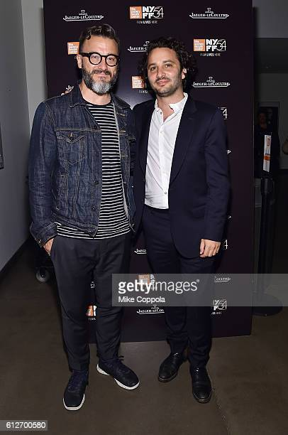Fernando Trocca and Director Gaston Solnicki attend the 'Kekszakallu' intro and QA during the 54th New York Film Festival at Howard Gilman Theater on...