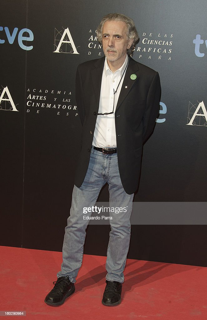 Fernando Trueba attends Goya awards final candidates party photocall at El Canal theatre on January 28, 2013 in Madrid, Spain.