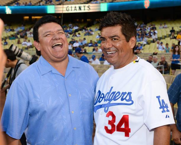 Los Angeles Dodgers Fernando Valenzuela 1981 World Series
