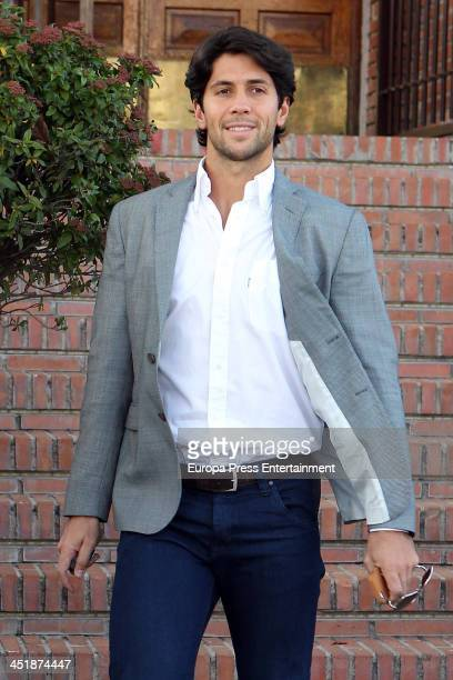 Fernando Verdasco attends his 30th birthday party on November 15 2013 in Madrid Spain