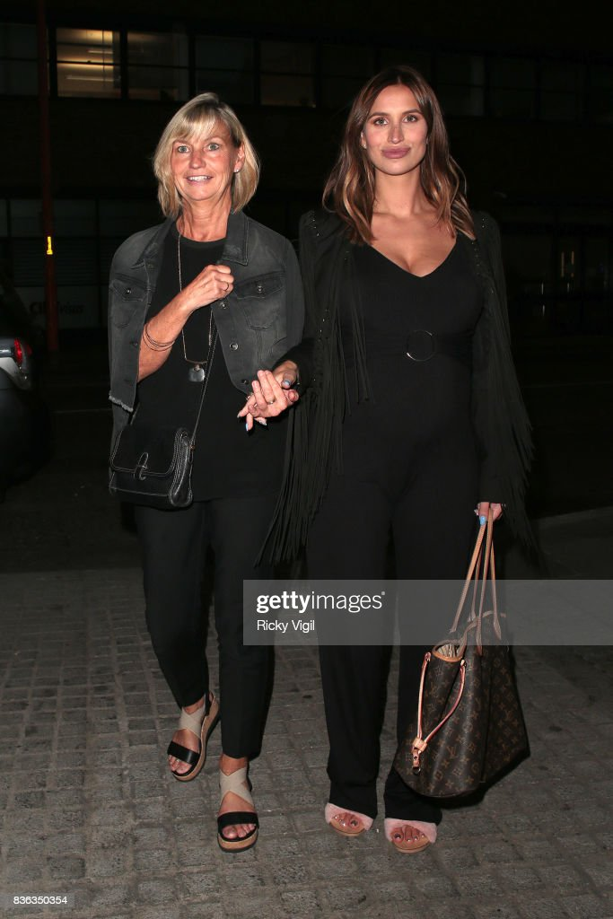 Ferne McCann and her mum Gilly McCann attend The Savvy Mummy event at Union Theatre on August 21, 2017 in London, England.