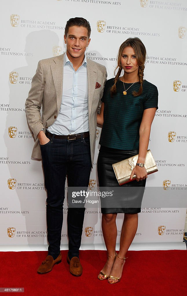 Ferne McCann and Lewis Bloor arrive at the British Academy Children's Awards on November 24, 2013 in London, England.