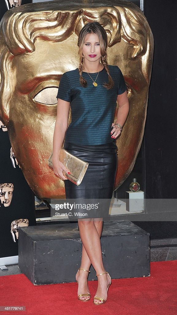 Ferne McCann arrives at the British Academy Children's Awards at the London Hilton on November 24, 2013 in London, England.