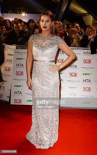 Ferne McCann attends the 21st National Television Awards at The O2 Arena on January 20 2016 in London England