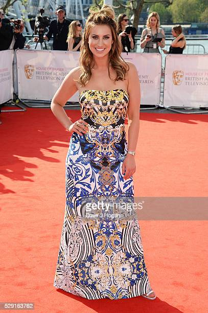 Ferne McCann attends the House Of Fraser British Academy Television Awards 2016 at the Royal Festival Hall on May 8 2016 in London England