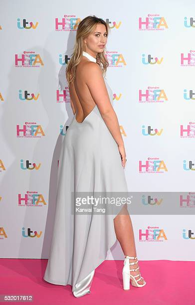 Ferne McCann attends the Lorraine's High Street Fashion Awards at Grand Connaught Rooms on May 17 2016 in London England