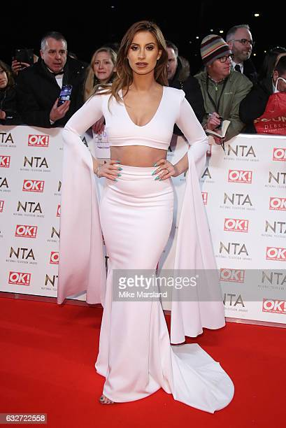 Ferne McCann attends the National Television Awards at The O2 Arena on January 25 2017 in London England