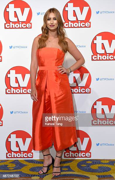 Ferne McCann attends the TV Choice Awards 2015 at Hilton Park Lane on September 7 2015 in London England