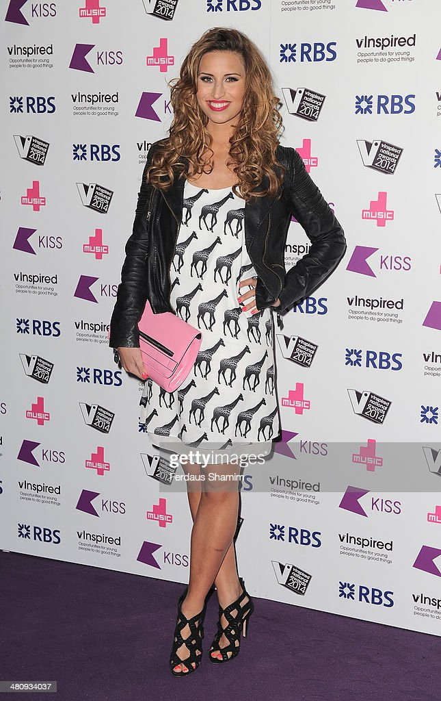 <a gi-track='captionPersonalityLinkClicked' href=/galleries/search?phrase=Ferne+McCann&family=editorial&specificpeople=11251130 ng-click='$event.stopPropagation()'>Ferne McCann</a> attends the vinspired National Awards at Indigo2 at O2 Arena on March 27, 2014 in London, England.