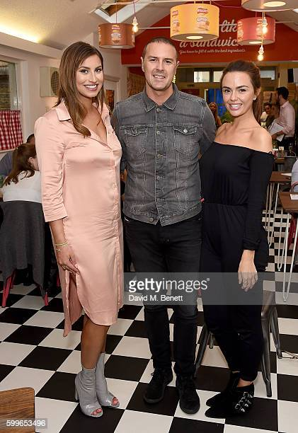 Ferne McCann Paddy McGuinness and Jennifer Metcalfe attend as Walkers launch the first ever Crisp Sarnie Club to celebrate the launch of their...