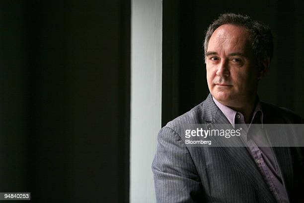 Ferran Adria Acosta the chef at the Michelin starred El Bulli restaurant poses after an interview in London UK on Tuesday Sept 30 2008 El Bulli on...