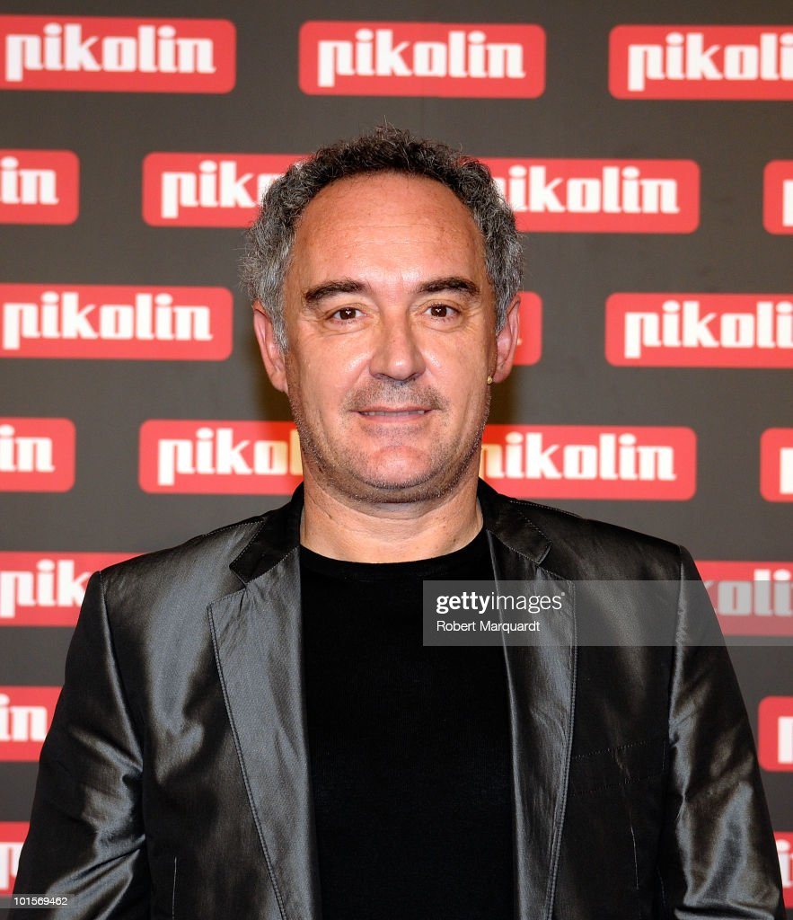 Ferran Adria attends a press conference for Pikolin beds on June 2, 2010 in Barcelona, Spain.