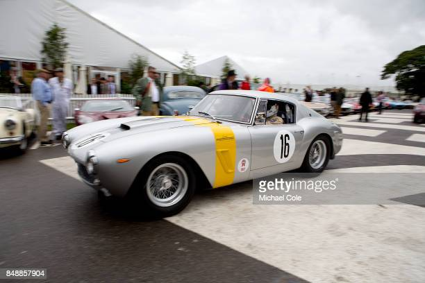 Ferrari 250 GT SWB entrant Arnold Meier and driven by David Franklin Frank Stippler in the Kinrara Trophy at Goodwood on September 8th 2017 in...