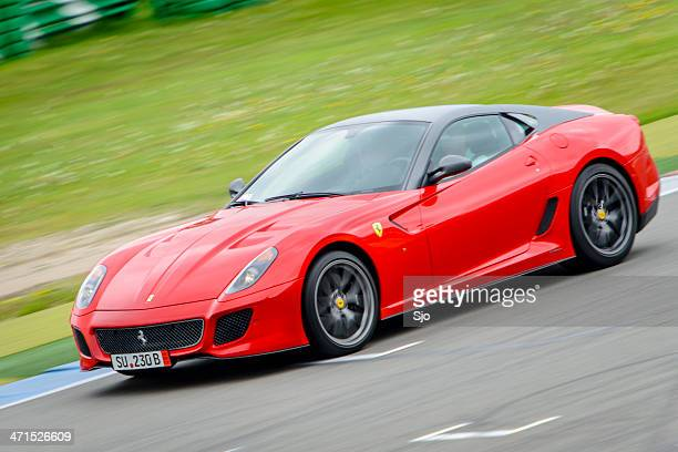 Ferrari 599 GTO V12 auto da corsa ad alte prestazioni
